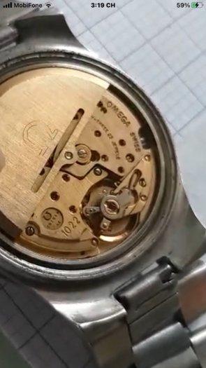 Đồng hồ cổ : OMEGA  AUTOMATIC Geneve (OMEGA Thuỵ Sĩ)1
