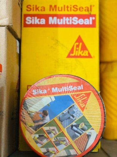 Băng keo chống dột, đầu vít, giáp mí tole - Sika Multiseal (cuộn 10m x 7.5 cm)0