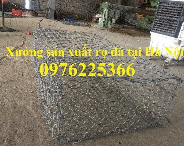 Rọ đá mạ kẽm 2x1x1 giá rẻ tại Hà Nội3
