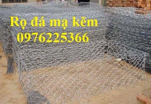 Rọ đá mạ kẽm 2x1x1 giá rẻ tại Hà Nội2