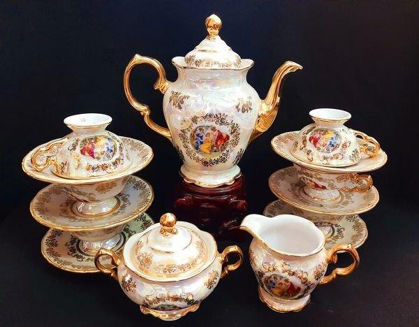Bộ trà Âu, xuất xứ Tiệp (Jalongshop)0