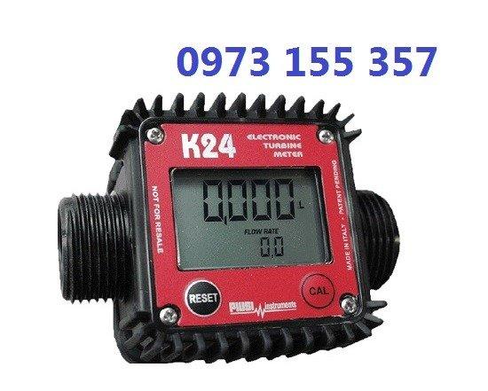 Đồng hồ đo dầu K24 Plastic,đồng hồ xăng dầu k24,đồng hồ đo nước,đồng hồ nước mini0