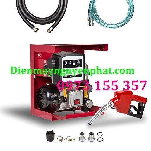 Bộ bơm dầu ETM-60,Bộ bơm dầu mini kèm đồng hồ ETM60,kít bơm dầu diesel 220V etm600