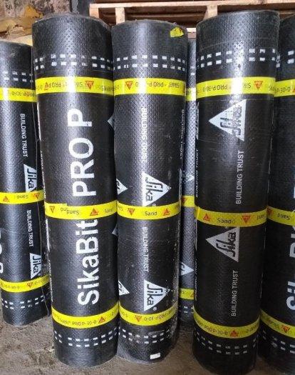 Màng khò nóng chống thấm sàn mái - SIKA THẾ VŨ - SikaBit PRO P-30-0 Sand (Cuộn 10m)0