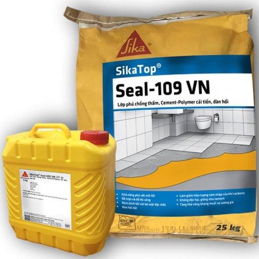 Vữa chống thấm bể bơi, cống thoát nước - SIKA THẾ VŨ - SikaTop Seal 109 (bộ 15kg)0