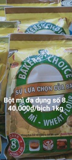 Bột mì Bakers' Choice Số 8 1kg0