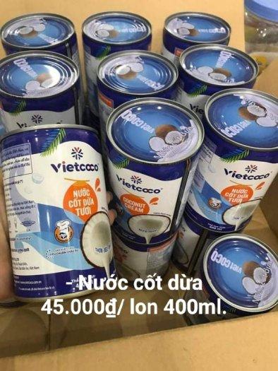 Nước cốt dừa vietcoco lớn 400ml0