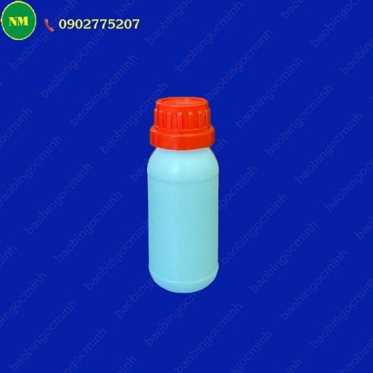 Chai xịt hdpe 100ml màu trắng tròn với vòi bơm phun sương, chai nhựa lưu trữ tinh chất, dầu.4