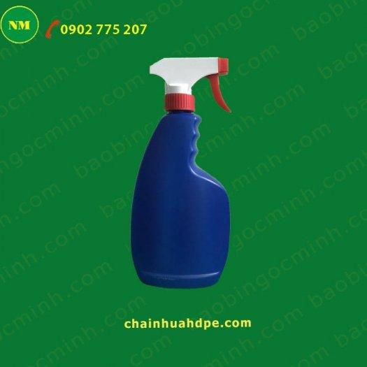 Chai xịt hdpe 100ml màu trắng tròn với vòi bơm phun sương, chai nhựa lưu trữ tinh chất, dầu.0