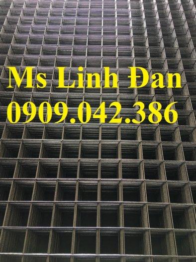 Lưới thép hàn đổ bê tông, lưới thép hàn chập d6a200, lưới thép hàn d6a150,5