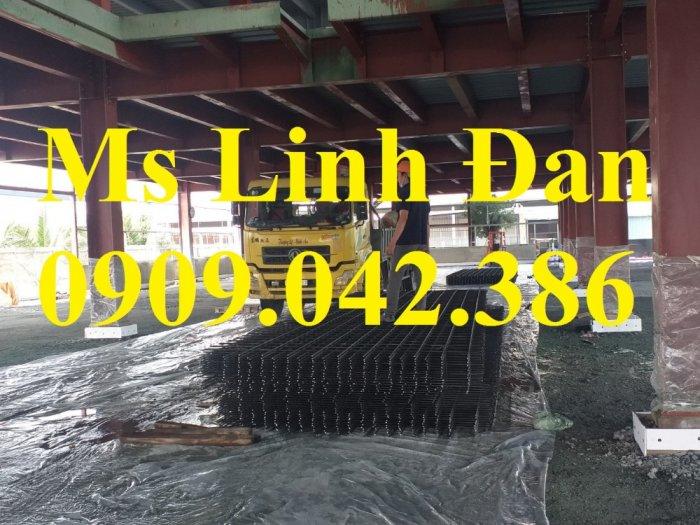 Lưới thép hàn đổ bê tông, lưới thép hàn chập d6a200, lưới thép hàn d6a150,2