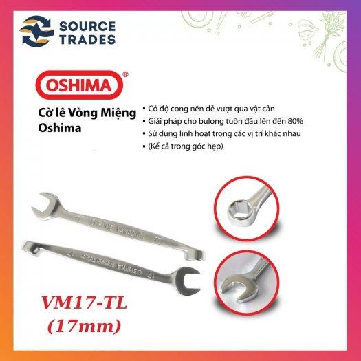 CCờ lê vòng miệng CROME OSHIMA - Đài Loan (trắng bạc)3