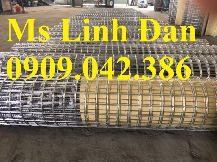 Lưới thép hàn mạ kẽm D4 mắt 50x50, D3 mắt 50x50 có sẵn hàng12