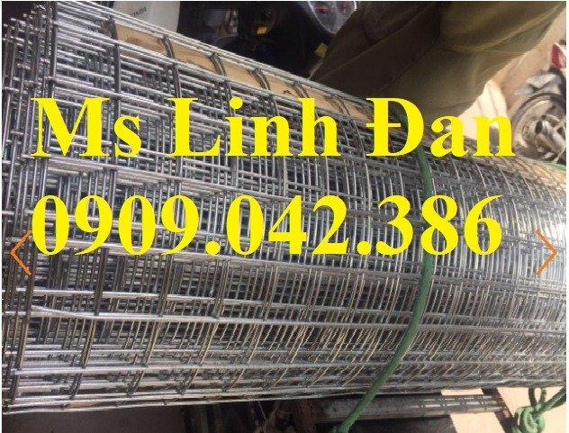 Lưới thép hàn mạ kẽm D4 mắt 50x50, D3 mắt 50x50 có sẵn hàng11