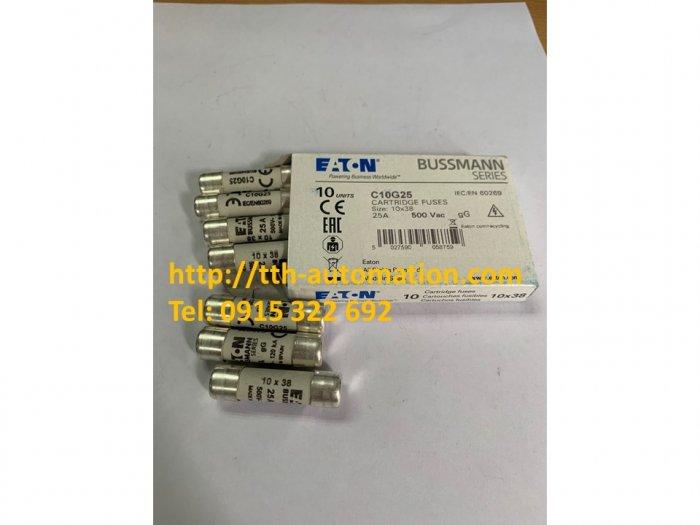 Cầu chì C10G25 - TTH Automatic Nhập khẩu và phân phối chính hãng Cầu chì Bussmann tại Việt Nam0