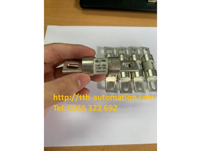 Cầu chì Bussmann FWH40B - Nhập khẩu và phân phối bởi TTH Automatic Co.,LTD1