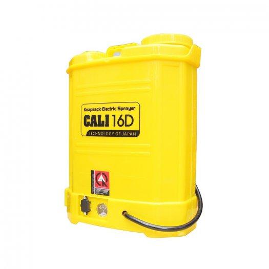 Bình xịt điện Cali 16D, 16 lít phun xịt nước tưới, phun khử trùng (Vàng)1
