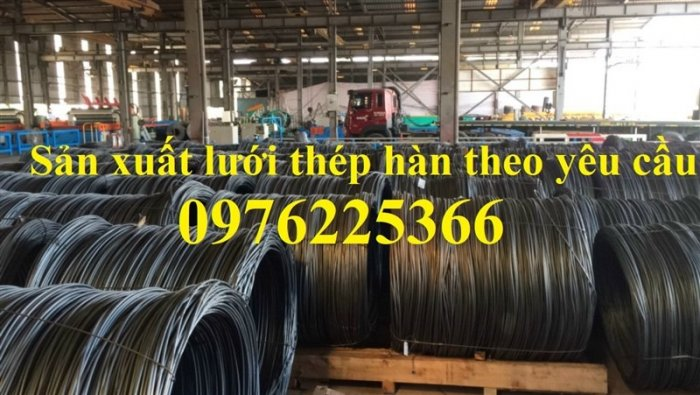 Lưới thép đổ bê tông D4 A100, D4 A150, D4 A200 giá rẻ0