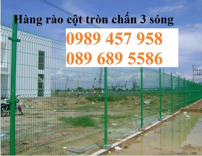 Hàng rào mạ kẽm phi 5 50x200, Hàng rào sơn tĩnh điện D5 50x150, Hàng rào nhúng nóng6