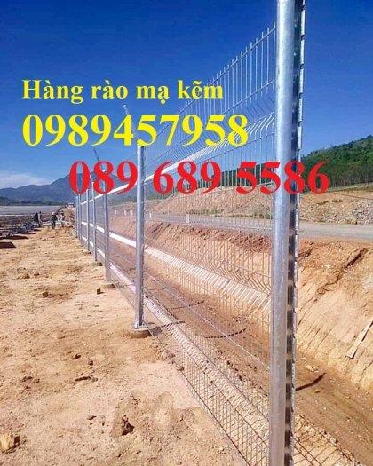 Hàng rào mạ kẽm phi 5 50x200, Hàng rào sơn tĩnh điện D5 50x150, Hàng rào nhúng nóng0
