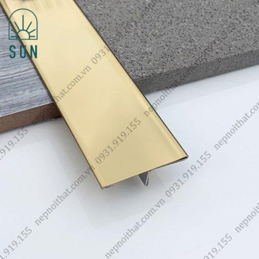 Nẹp chữ T Inox - Nẹp T Inox 304 màu vàng - Nẹp Inox trang trí - Nẹp T chấn bào5