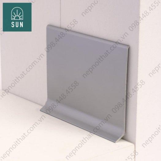 Len chân tường nhôm DPC60 - Len chân tường giá tốt - Nẹp chỉ tường - Phào nẹp chân tường2