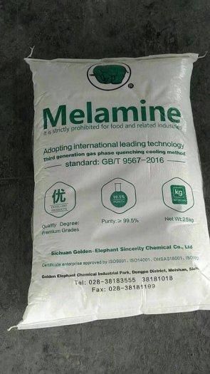MELAMINE C3H6N6 , KEO MELAMIN, MELAMN CON VOI ,MELAMIN GIÁ RẺ, MELAMIN TẠI MIỀN NAM1