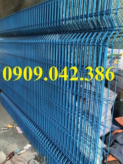 Lưới hàng rào sơn tĩnh điện phi 5 ô 75x200, hàng rào mạ kẽm nhúng nóng ô 75x20010
