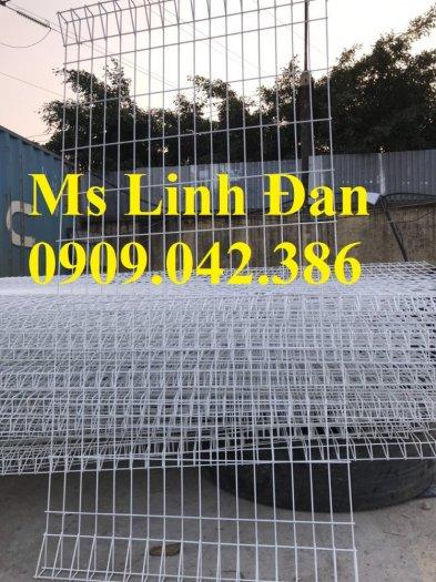 Lưới hàng rào sơn tĩnh điện phi 5 ô 75x200, hàng rào mạ kẽm nhúng nóng ô 75x2005