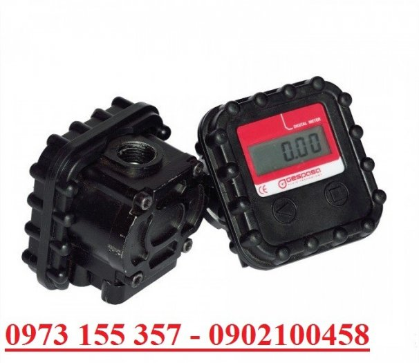 Đồng hồ đo dầu nhớt Gespasa MGE-40,đồng hồ đo nhớt 30 lít/phút0