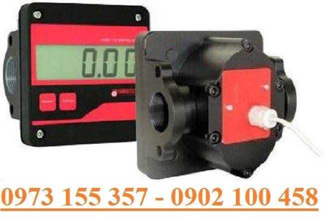 Đồng hồ đo dầu Gespasa MGE-110,đồng hồ đo 100 lít/phút0