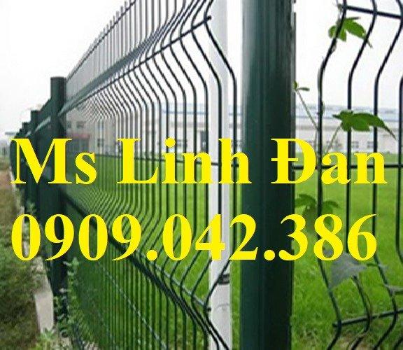 Hàng rào mạ nhúng nóng phi 5 ô 50x100, 50x150, 50x2006