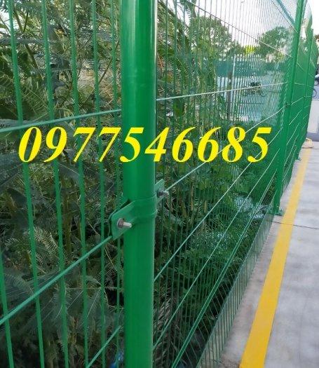 Lưới hàng rào phi 5A50x200 mạ kẽm sơn tĩnh điện4