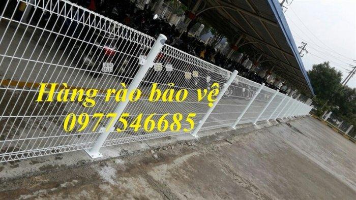 Lưới hàng rào phi 5A50x200 mạ kẽm sơn tĩnh điện0