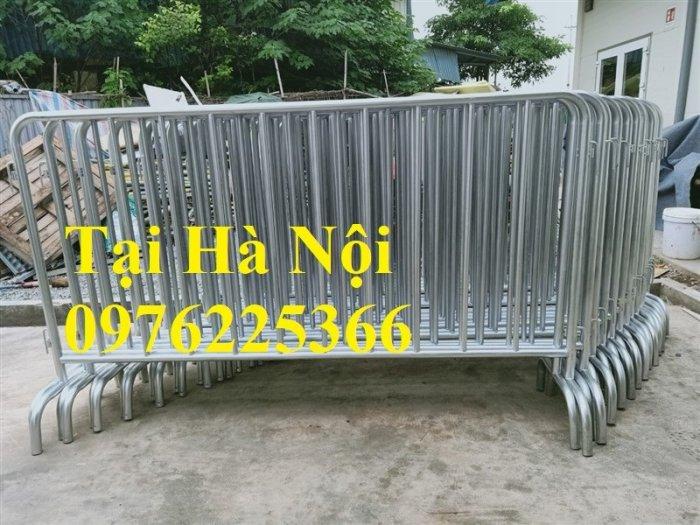 Hàng rào di động mạ kẽm 1.2 x 2m6