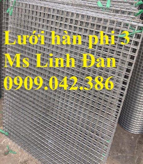 Lưới thép hàn D3 a 50x50 khổ 1m, 1.2m , 1.5m mạ kẽm0