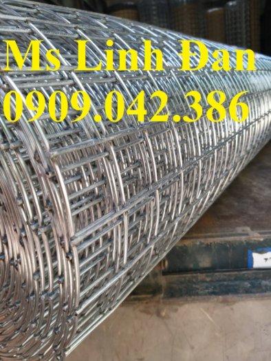 Lưới thép hàn mạ kẽm D2 ô 25x25 khổ 1m, 1.2m, 1.5m4