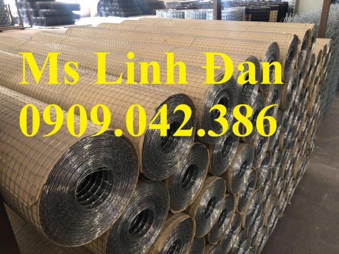 Lưới thép hàn mạ kẽm D2 ô 25x25 khổ 1m, 1.2m, 1.5m2