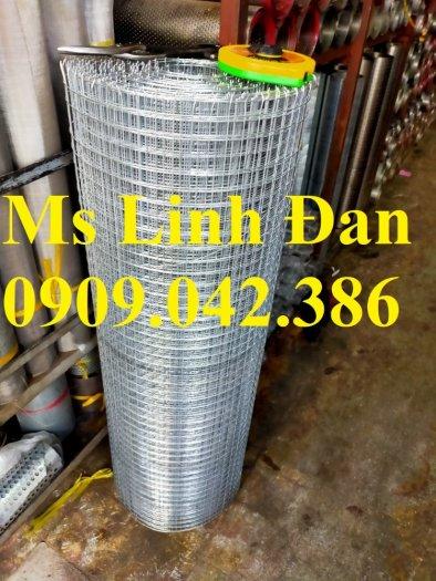 Lưới thép hàn mạ kẽm D2 ô 25x25 khổ 1m, 1.2m, 1.5m1
