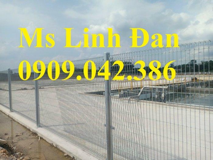 Nhận sản xuất hàng rào lưới thép ,hàng rào lưới thép mạ kẽm9
