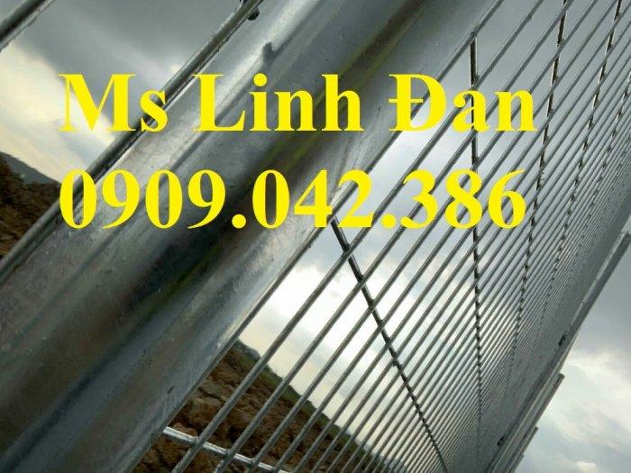 Nhận sản xuất hàng rào lưới thép ,hàng rào lưới thép mạ kẽm4