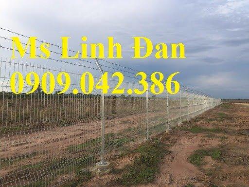 Nhận sản xuất hàng rào lưới thép ,hàng rào lưới thép mạ kẽm1