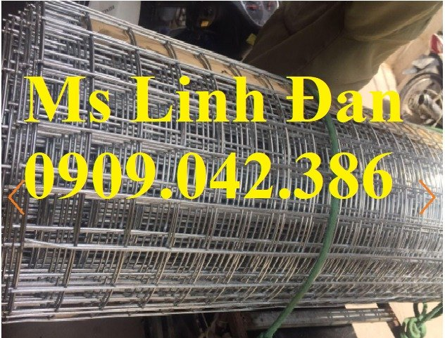 Chuyên sản xuất lưới hàn chập mạ kẽm phi 2, phi3, phi4, phi 5, phi 69