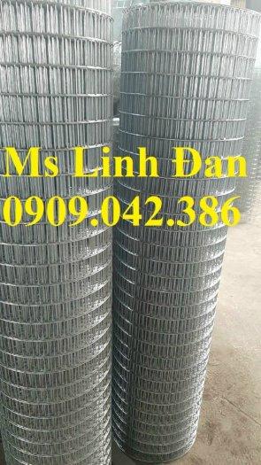 Chuyên sản xuất lưới hàn chập mạ kẽm phi 2, phi3, phi4, phi 5, phi 67
