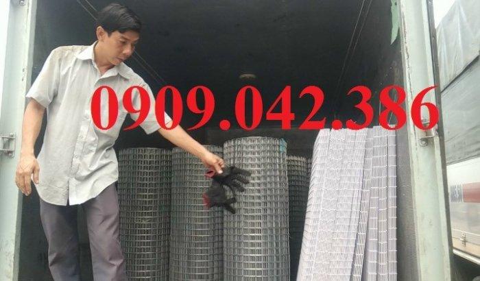 Chuyên sản xuất lưới hàn chập mạ kẽm phi 2, phi3, phi4, phi 5, phi 61
