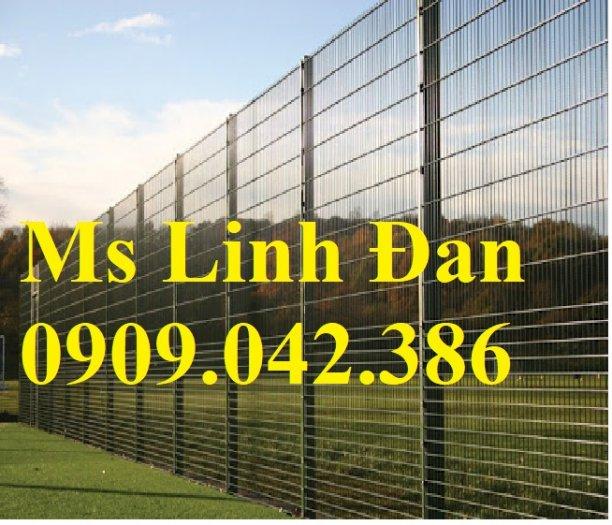 Chuyên sản xuất lưới hàng rào phi 4, phi 5, phi 6 mạ kẽm theo yêu cầu10