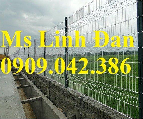 Chuyên sản xuất lưới hàng rào phi 4, phi 5, phi 6 mạ kẽm theo yêu cầu7