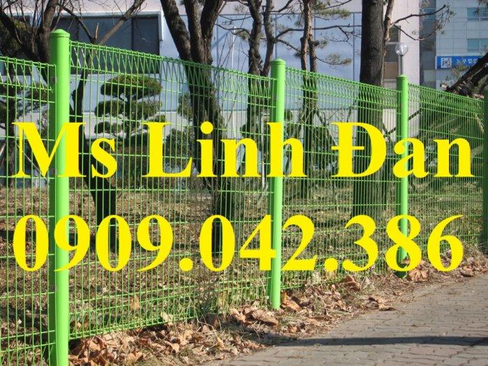 Chuyên sản xuất lưới hàng rào phi 4, phi 5, phi 6 mạ kẽm theo yêu cầu5