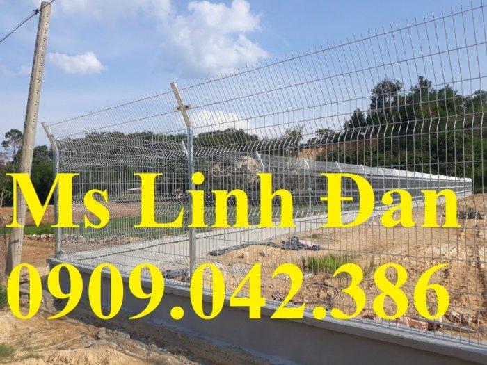 Chuyên sản xuất lưới hàng rào phi 4, phi 5, phi 6 mạ kẽm theo yêu cầu1