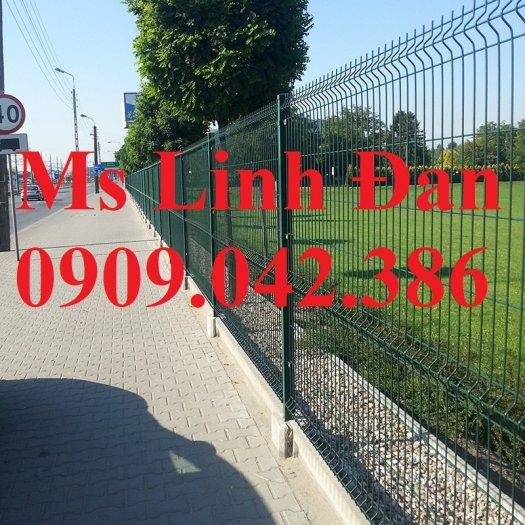 Chuyên sản xuất lưới hàng rào phi 4, phi 5, phi 6 mạ kẽm theo yêu cầu0